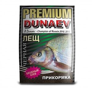 прикормка Дунаев премиум лещ черная